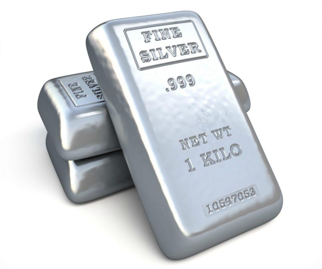 Kilogram Silver Bars