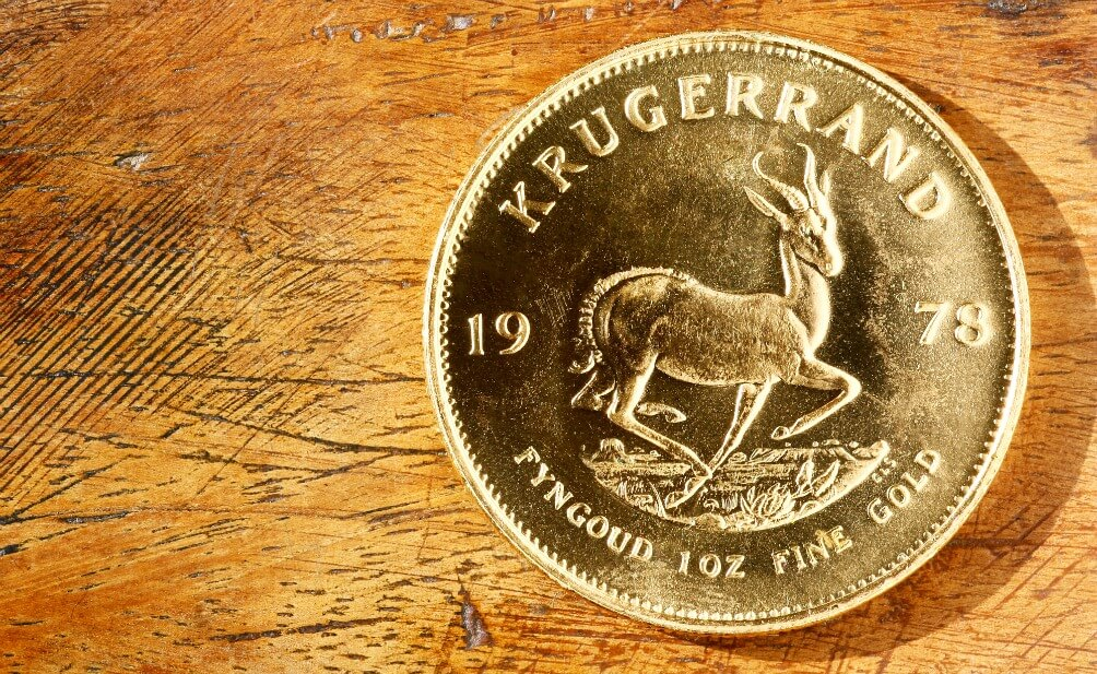Gold Krugerrand Coins For Best Value At The Lowest Price